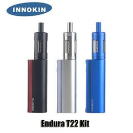 Innokin starter en Ligne-100% d'origine Innokin Endura T22 Starter Kit 2000mAh 14 W Batterie 2.5 ml Top Remplissage Atomiseur Verre Coffret Cadeau
