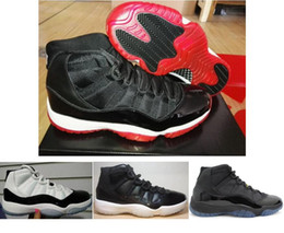 Wholesale men cow - Real Carbon Fiber 11 11s Bred Concords Gamma Blue 72-10 Basketball Shoes Men Top Quality 11 Carbon Fiber Sneakers With Shoes Box