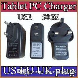 500X AB ABD İNGILTERE Tak Evrensel USB Şarj AC Güç Adaptörü Tablet PC Cep Telefonu için 5 V 2A C-PD nereden toptan güç şeritleri tedarikçiler