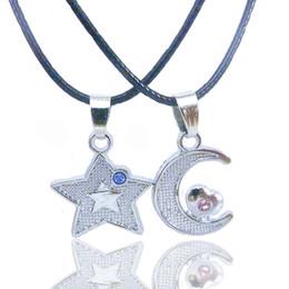 Wholesale Lock Key Necklace Couple - 2017 NEW Key Lock Couple Necklace Valentine's Day Gift