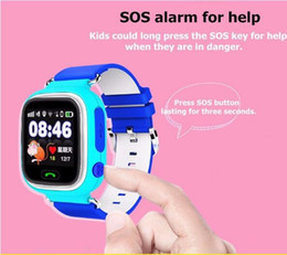 Wholesale Free Gps Monitoring - new Q90 GPS smart watch with Wifi touch screen SOS Call Location DeviceTracker for Kid Safe Anti-Lost Monitor with free shipping