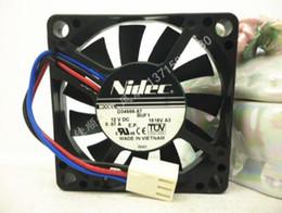 2019 asus e motherboards Genuine original Nidec 50 * 50 * 10 12 V 0.07A D34666-57 BUF1 3 fio 5 CM ventilador