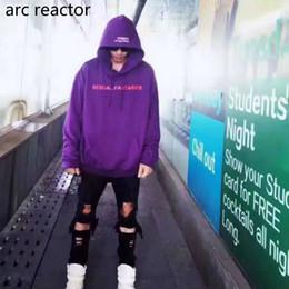Ropa de pasarela online-Venta al por mayor- VETEMENTOS Hombres con capucha Fantasías sexuales AUTOMNE-HIVER Hip Hop Kanye Skateboard Pasarela Supremo Oversize Sudaderas Ropa de marca