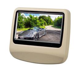 Wholesale Headrest Digital Touch Screen - 9 inch Capacitive Touch Screen Headrest Monitor Car DVD Pillow Headrest Monitor support USB SD  DVD Player IR FM car styling