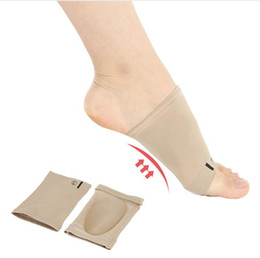 Wholesale Foam Arch - Arch Support Orthotic Plantar Fasciitis Cushion Pad Sleeve Heel Spurs Flat Feet Orthopedic Pad Correction Insoles Foot Care Tool