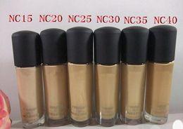 Wholesale Fix Cream - M brand HOT Makeup STUDIO FIX FLUID S15 Foundation Liquid 30ML High quality
