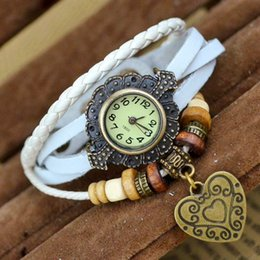 Wholesale restored antique - Spot supply antique watch wholesale foreign trade Personality ladies watch bracelet table 8 color restoring ancient ways can be mixed batch