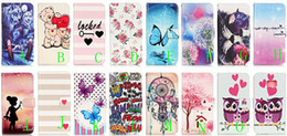 Wholesale Cats Performance - For SONY Xperia X PERFORMANCE XA Flip Cover Wallet Leather Dandelion Sexy Girl FlowerCartoon Heart Bear Cat Stand Case