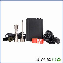 Wholesale Green Lighting Products - Nail WAX Vaporizer nail D-Nail D Updated New Products Green Light Vape E Cigarettes Hot Sale VS H Nail