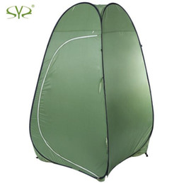 Wholesale Portable Toilet Outdoors - Outdoor Dressing changing Toilet Tent auto open portable camping beach Bath shower privacy photo lightweight tenda