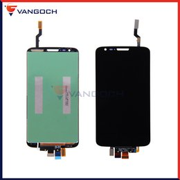 Wholesale Lg G2 Frame - 100% Top Quanlity For LG G2 D805 D800 D802 F320 LCD Display Touch Screen With & without Frame Digitizer Assembly Replacement Free Shipping