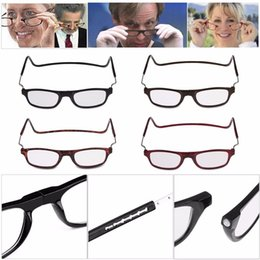 Wholesale People Reading - Folding Magnetic Reading Glasses With Diopter +1.0 +1.5 +2.0 +2.5 +3.0 +3.5 +4.0 Men Women Spectacles Old People YYA643