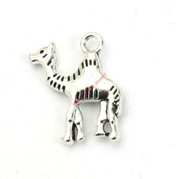 Bracelet de chameaux en Ligne-20pcs antique plaqué argent charmes de chameaux pendentifs pour la fabrication de bijoux de bracelet bricolage collier artisanat 22X19mm