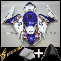 Wholesale Cbr Repsol Body Kit - 23colors+8Gifts REPSOL black Yellow CBR1000RR 06-07 2006 2007 CBR1000RR INJ Fairing INJECTION MOLD Body Kit Fairing for Honda CBR 1000