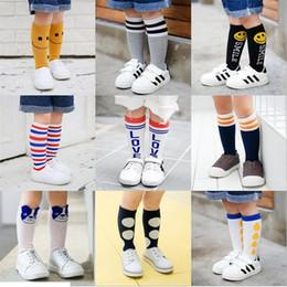 Wholesale Knee Socks For Baby Girls - Girls Boys Kids Knee High Leg Infantil Menina Socks Cute Fashion Socks For Toddler Baby Girls Toddler Children Chaussette Delivery Randomly