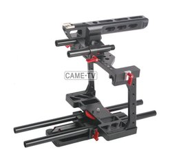Wholesale 15mm Rod Rig Handles - CAME-TV Rig BMCC-01 W  TOP Handle Dovetail Plate 15mm Rod
