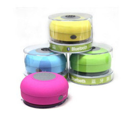 Wholesale Passive Speakers - Hot 2016 Waterproof Wireless Bluetooth Portable Shower Speaker Colorful for iphone 5 5s 5c 4 4s samsung HTC MP3 MP4