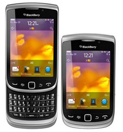 Wholesale 5mp Camera Phones - Refurbished Origignal Blackberry Torch 9810 Unlocked Cell Phone Qwerty Keyboard 5MP ROM 8GB GPS WIFI 3G