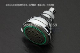 Wholesale Cheap Water Faucets - high quality ABS material 4'in bathroom faucet shower head Cheap faucet bamboo High Quality faucet single
