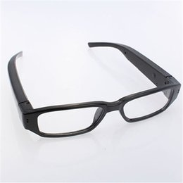 Wholesale Hd Spy Camera Glass - 720P HD Mini Glasses Spy Hidden Camera Glasses Eyewear DVR Video Recorder Micro Cam