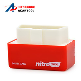 Wholesale Power Programmer Ford - 2016 NitroOBD2 Diesel Car Chip Tuning Box nitroobd2 Plug and Drive OBD2 Chip Tuning Box More Power   More Torque NitroOBD2 Chip Tuning Box