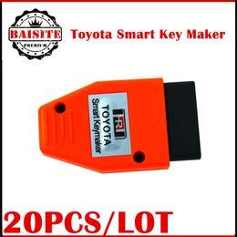 Wholesale Toyota Smart Key Price - Free dhl 20pcs lot Toyota Smart Key maker key programmer 4D chip for Toyota Smart Keymaker OBD2 Eobd Key Programmer tool factory price