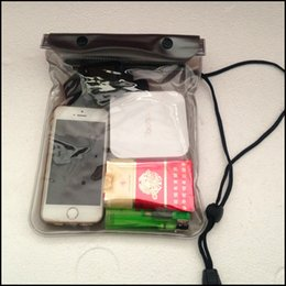 Más barato! Cubierta impermeable transparente de la caja del bolso de la bolsa para el teléfono celular iphone7 Samsung S7 HTC y más nueva llegada del envío libre desde fabricantes