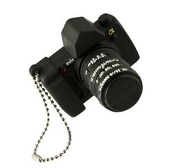 Wholesale Camera Memory Sticks - Mini Silicone Camera Model USB 2.0 Flash Memory Stick 32GB 64GB 128gb 256gb Pen Drive High Qualtiy