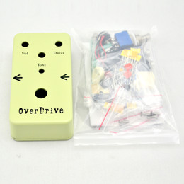 Wholesale Electric Guitars Effects - NEW DIY Overdrive Pedal pedal Electric guitar effect pedals OD1 kit