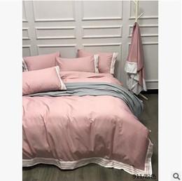 Wholesale Animal Bedspreads - 2017 New Cotton Bedding Set Duvet Cover Without Comforter 4Pcs Home Textile One Duvet Cover Almofadas Bedspread Clothes Bed Linen Clothes