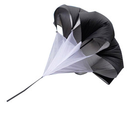 Wholesale Running Exercises - 56 Inch High Quality Speed Training Resistance Parachute Exercise Power Running Chute with Free Carry Bag