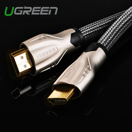 Wholesale Hdmi Cables For 3d Tv - Ugreen HDMI Cable 1m 2m 3m 5m HDMI to HDMI Cable HDMI Adapter 4K 3D 1.4v cable for HD TV LCD laptop PS3 projector computer cable