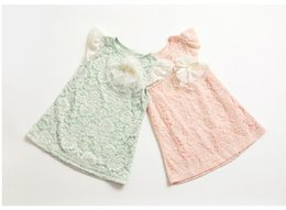 Wholesale Dress 88 - [Eleven Story] Girls 2016 new summer lace dresses baby children lovely clothing kids clothes ES12DS-88