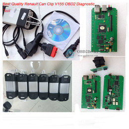 Wholesale Clip Diagnostic - Wholesale-Best Quality Professional Can Clip V155 Renault CAN Clip OBD2 Auto Car Diagnostic Interface For Renault diagnostis tool