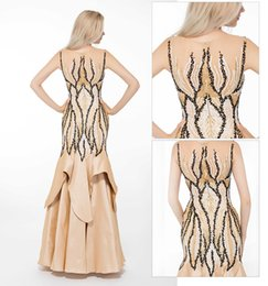 Wholesale Line Porm - 2016 New desiner real sample Formal evening dresses A line jewel Seqins Beading floor length Porm party gowns