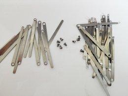 Wholesale Clarinet Screws - Wholesale- 100pcs Instrument reed Clarinet Spring pieces Screws accessories musical maintenance accessories 50pcs spring sheet+50screws