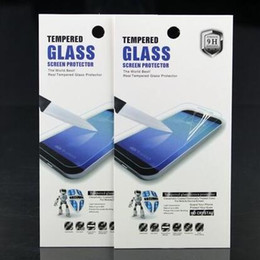 Wholesale Empty Retail Packaging - Empty Color Box Universal For 9H 2.5D Tempered Glass Screen Protector Retail Box Packaging for iphone 7 Plus 6S Plus Samsung S7 Edge