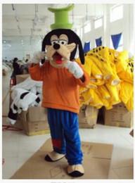 Wholesale Goofy Costume Characters - 2017 new Fashion New Custom made New Goofy Dog Mascot Costume - goofy costumes character