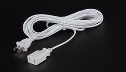 Wholesale Wireless Extension Cords - Wireless camera 2.5 m extension cord   extension cord plug two pole 220V power supply monitoring dedicated