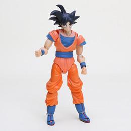 """Dragon Ball Z Filho Gokou PVC Action Figure Coleção Toy 6.5 """"16 CM de Fornecedores de ferro brinquedo homem azul"""