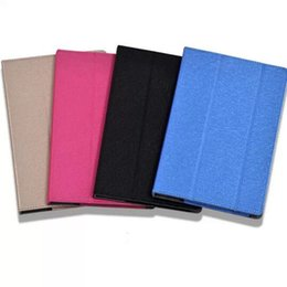 "Wholesale Tablet Stand Folder - 3-Folder Magnetic Folio Stand Smart Silk Print Pattern PU Leather Cases Cover For Chuwi V89 8.9"" 8.9 inch Tablet"