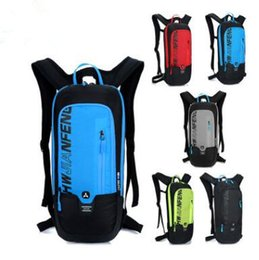 Wholesale Wholesale Waterproof Backpacks - 5 Colors Outdoor Cycling Bags Travel Portable Bag Light Weight Waterproof Backpack Sports Bag Riding Bag Storage Backpack CCA6935 12pcs