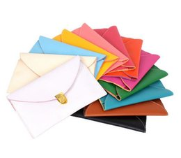 Wholesale Envelope Mini - 2016 new Womens Envelope Clutch Chain Purse Lady Handbag Tote Shoulder Hand Bag 14 colors D651