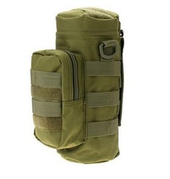 Wholesale Military Water Pack - 2017 Nylon Water Bottle Pouch Water-repellent Zipper Camo Water Bottle Tactical Military Pack Bag for Travel Climbing