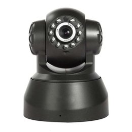 Wholesale Ip Camera Outdoor Wireless Pan - Wireless IP Camera WIFI Webcam Night Vision(UP TO 10M) 10 LED IR Dual Audio Pan Tilt Support IE S61