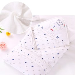 Wholesale Wholesale Baby Bassinet - 2017 New Baby Receiving Blankets Infants Bamboo Fiber Blankets 85*85cm Fit for Newborn Baby Bassinet soft Warm Blankets 2110019
