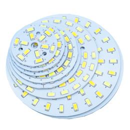 Temperatura de luz led color online-Temperatura de doble color SMD5730 LED PCB 3W 5W 6W 7W 9W 12W 15W 18W Fuente de luz blanca cálida blanca para bombilla LED