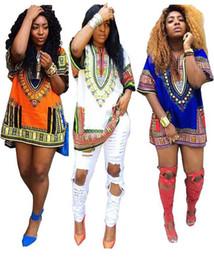 2019 vestidos vermelho carmesim 4 cores summer dress mulheres bohemian tradicional africano impressão dashiki bodycon dress casual manga curta dress plus size vestidos