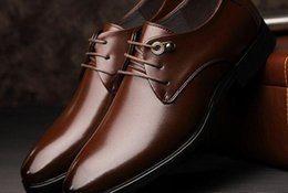 Wholesale Special Offers Dresses - A special offer Mens Casual Leather Men's shoes business dress shoes lace pointed British style young men shoes 102