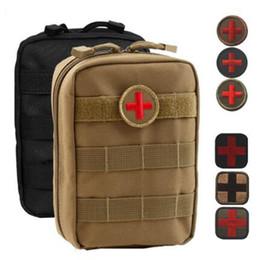 Canada 4 couleurs vide sac pour sac d'urgence tactique médicale kit de premiers secours taille pack camping en plein air voyage tactique stockage médical paquets Offre